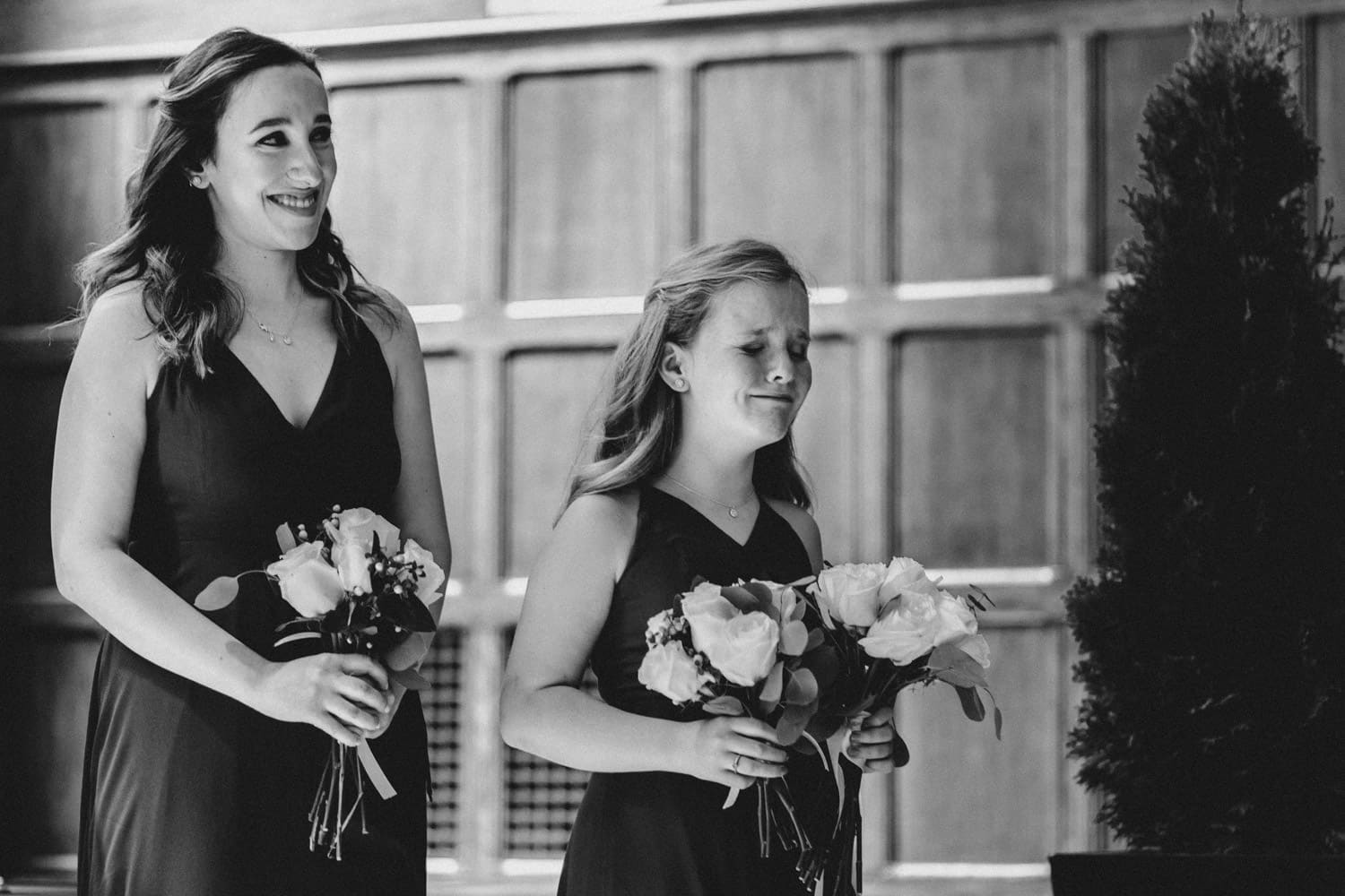 groom's daughter cries during ceremony - ottawa wedding photographer - carley teresa photography