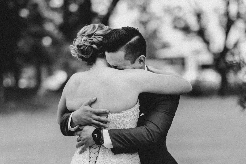 groom cries during first look - ottawa wedding photographer - carley teresa photography