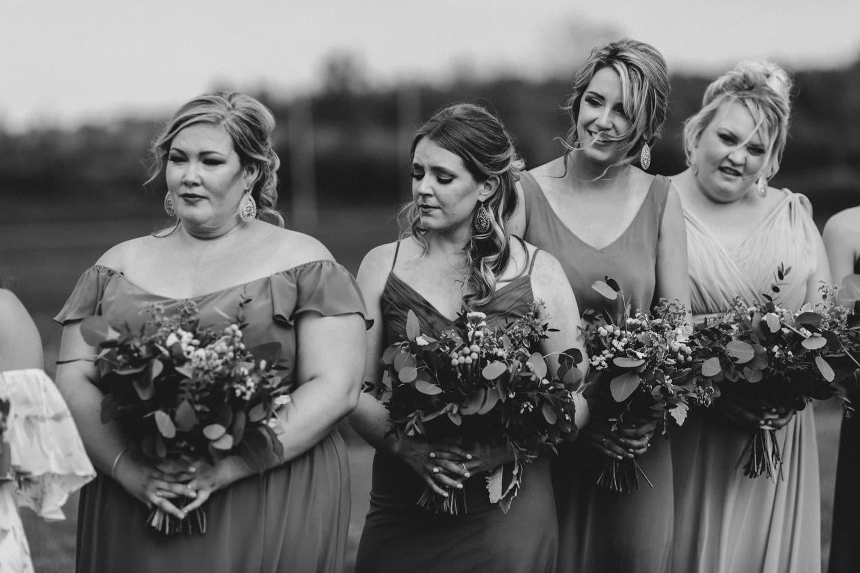 tear rolls down bridesmaids cheek - ottawa wedding photographer - carley teresa photography