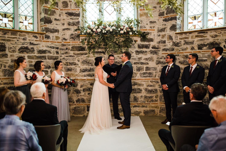 all saints events ceremony - downtown ottawa wedding