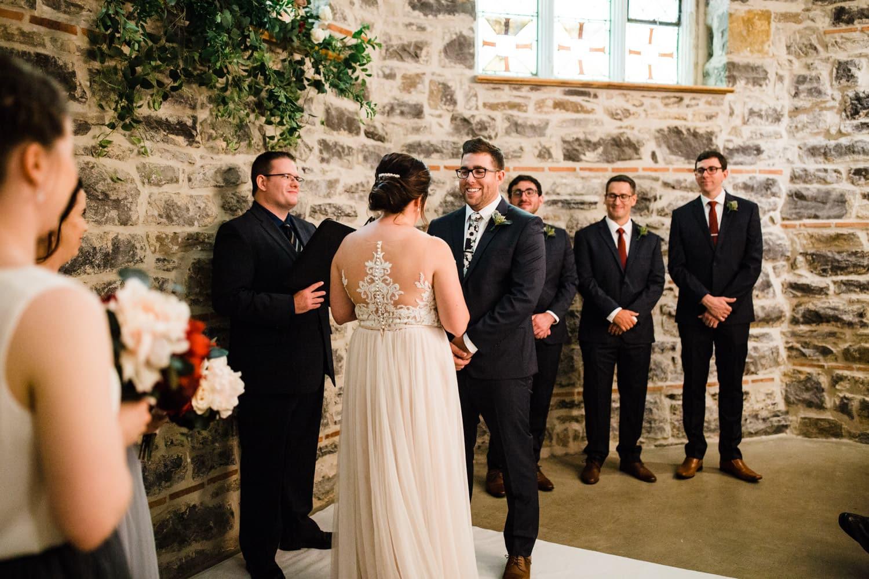 downtown ottawa wedding - all saints chapel ceremony