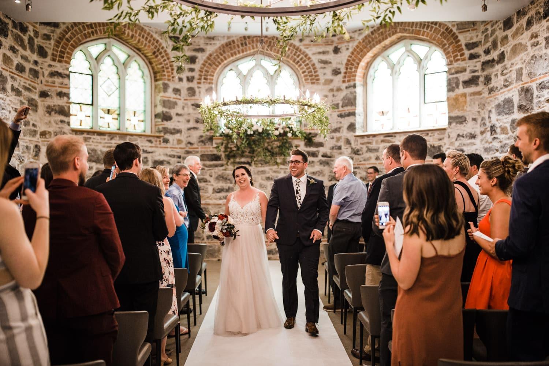 wedding recessional - all saints events chapel