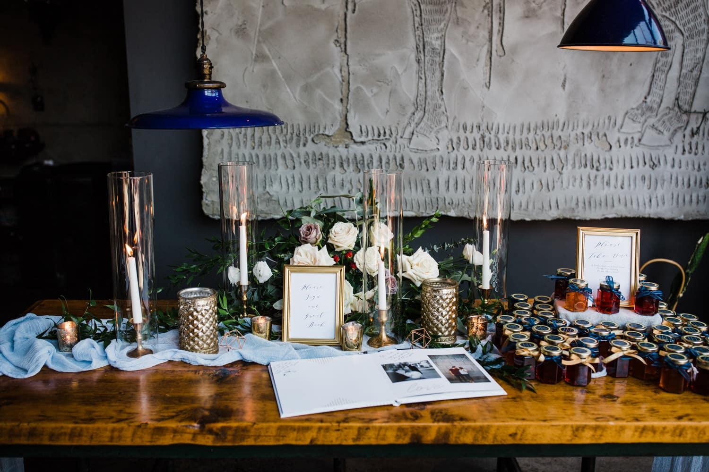 wedding decor - downtown ottawa wedding