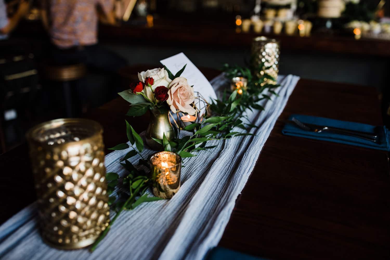 wedding decor details - downtown ottawa wedding