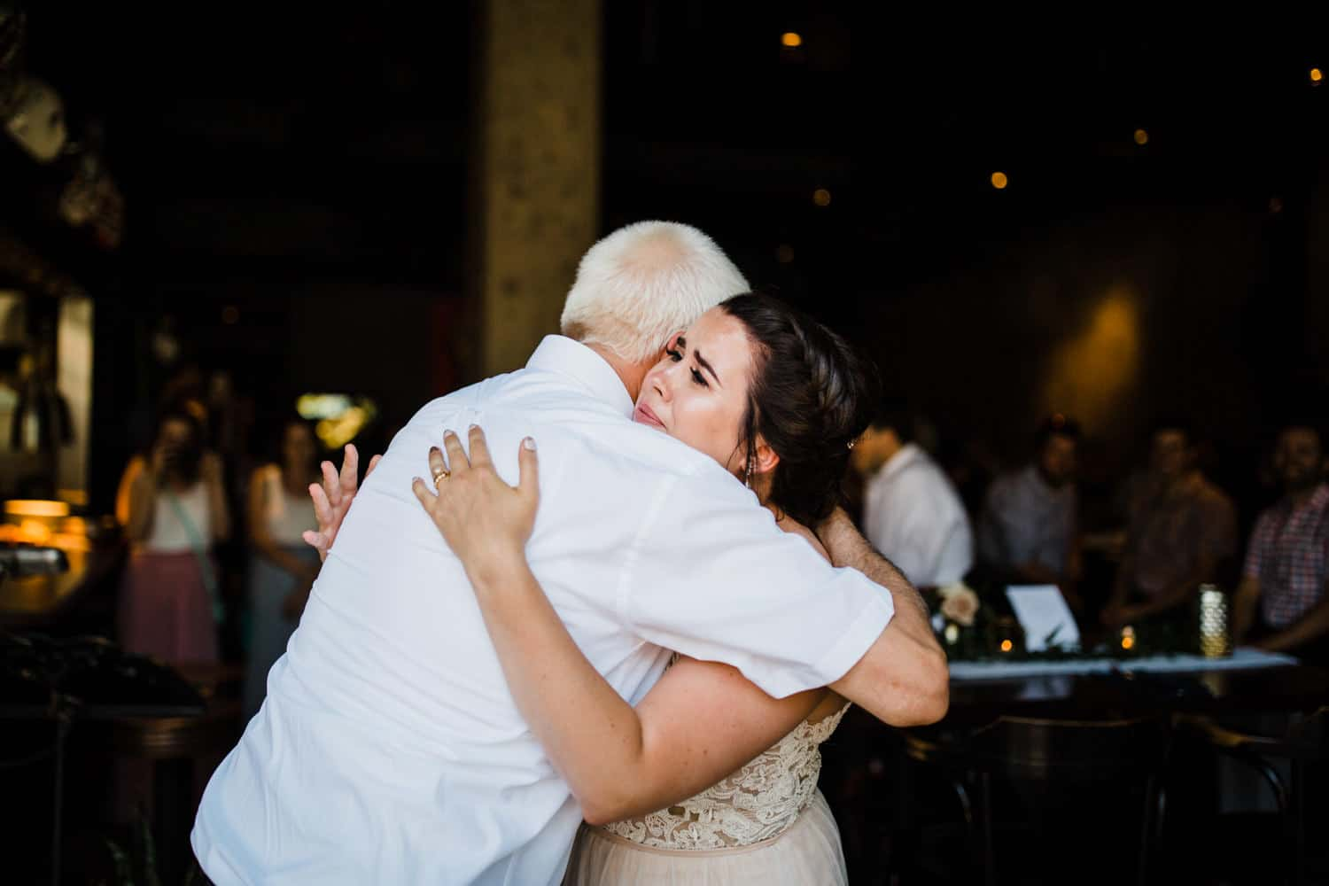 bride cries during father daughter dance - downtown ottawa wedding - carley teresa photography
