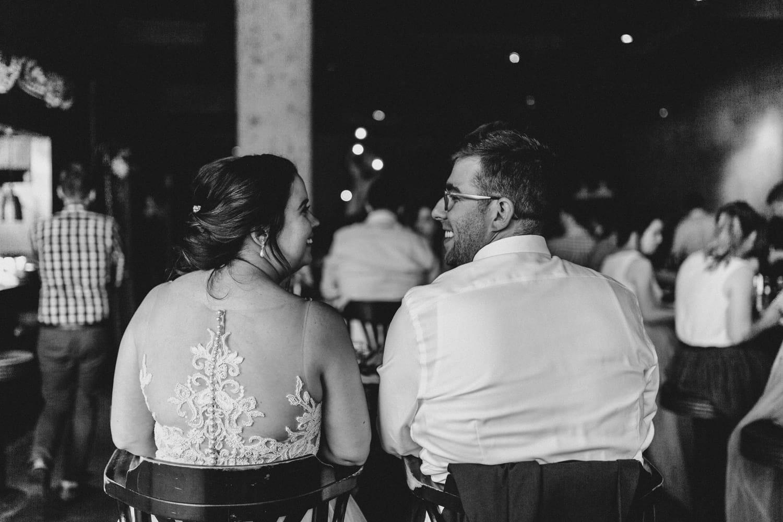 bride and groom eat tacos at el camino - downtown ottawa wedding