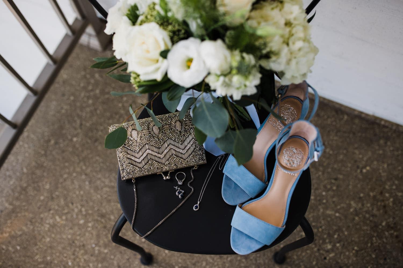 bridal details - summer strathmere wedding