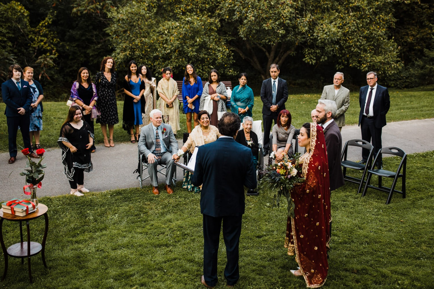 nikah in the park - rockcliffe park intimate ceremony ottawa