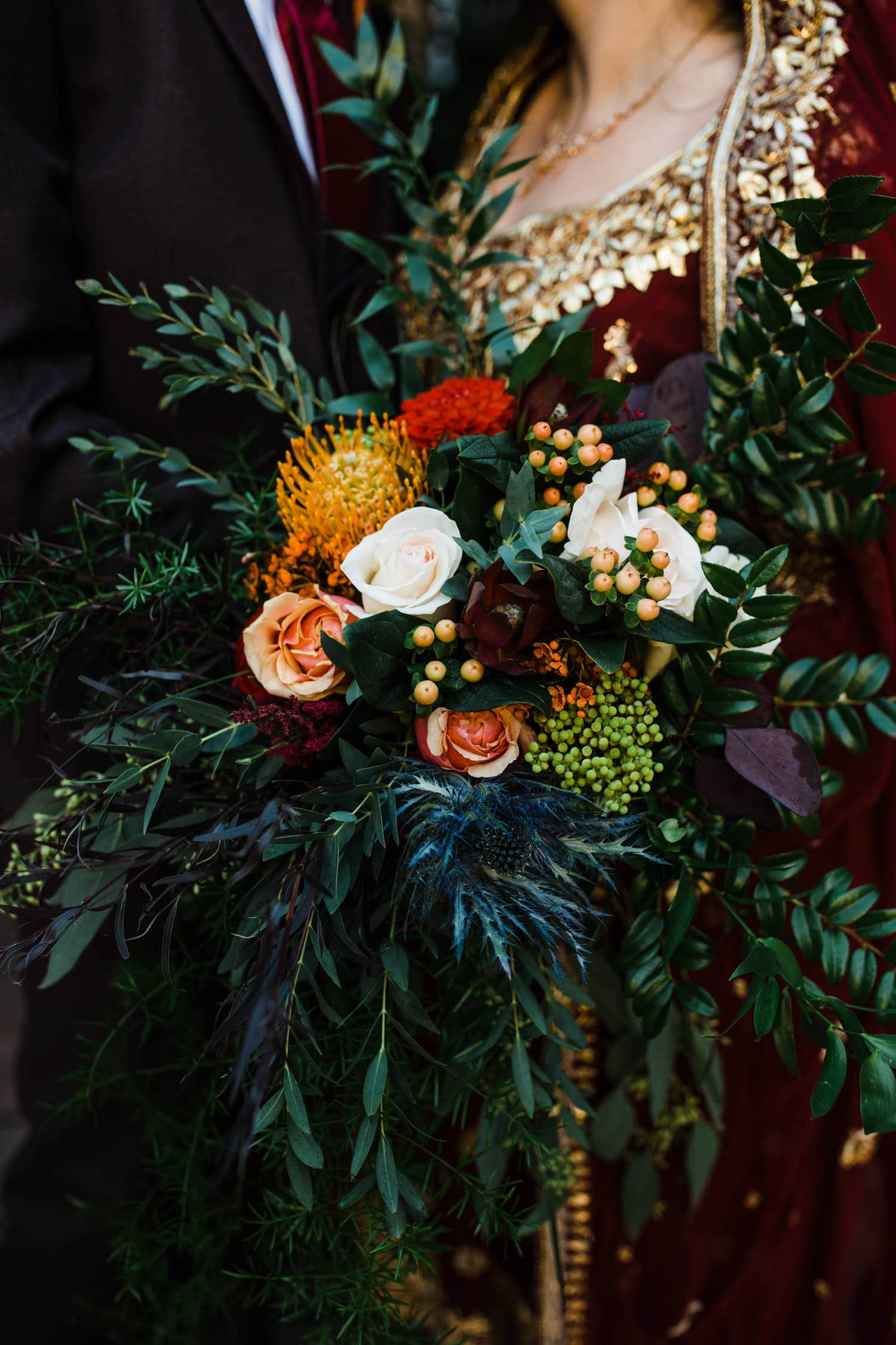 wedding florals - ottawa elopement