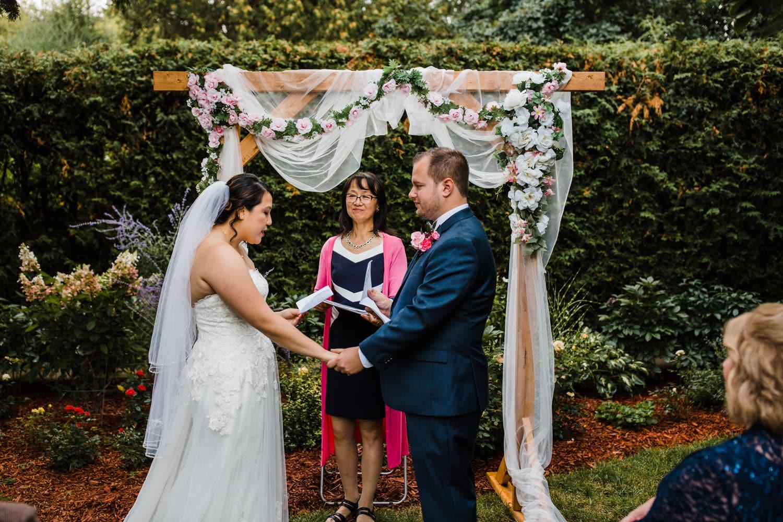 small backyard wedding ottawa
