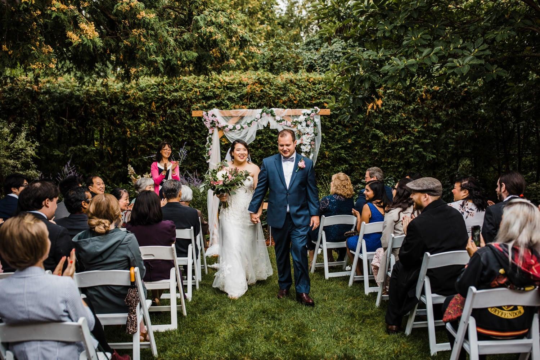 small ottawa backyard wedding