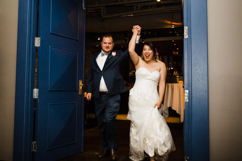 grand entrance - sidedoor wedding reception