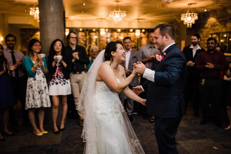 first dance - sidedoor wedding reception
