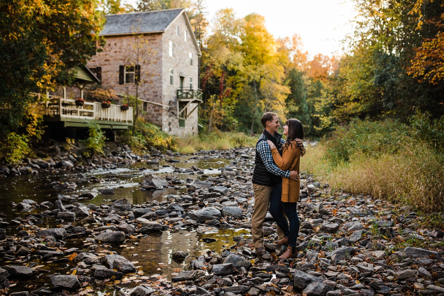 mill of kintail fall engagement