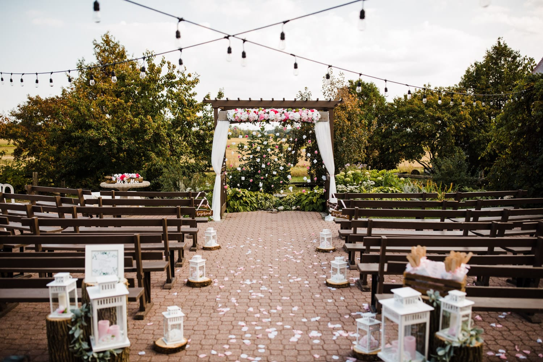 the lodge - strathmere summer wedding