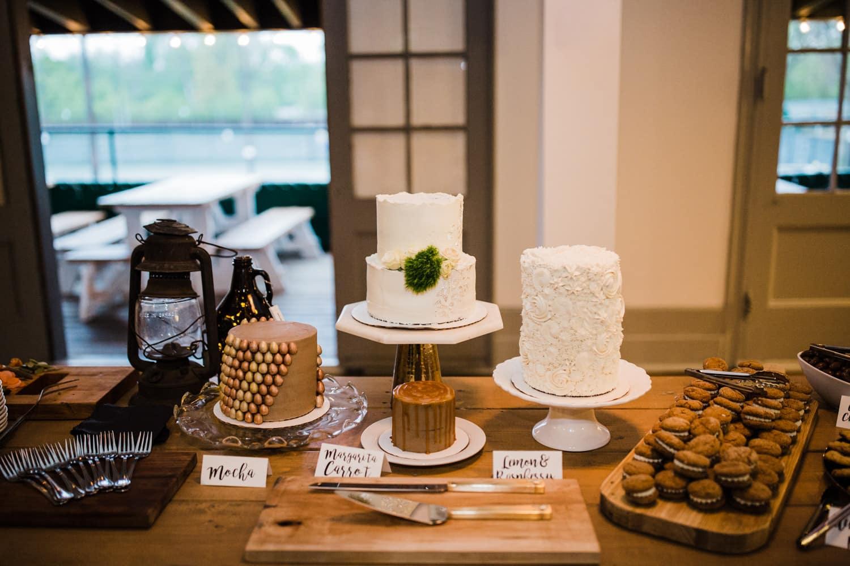 dessert table at ottawa wedding