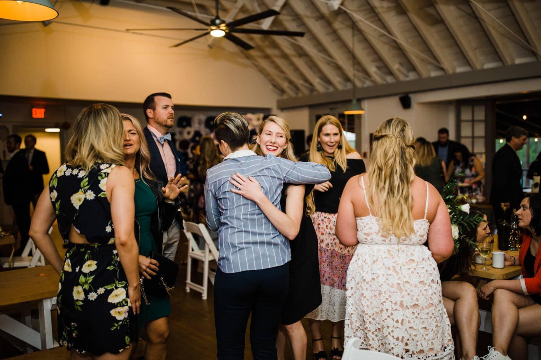 guests mingle - ottawa wedding