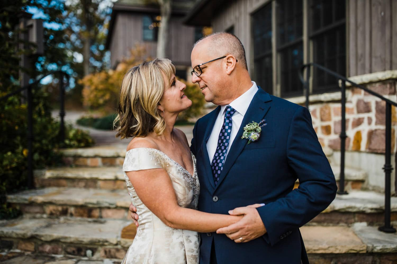 Intimate fall wedding - Thousand Islands Wedding - The Ivy Lea Club