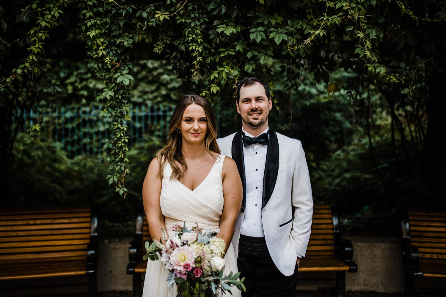 summer wedding at The Sussex Contemporary in Ottawa