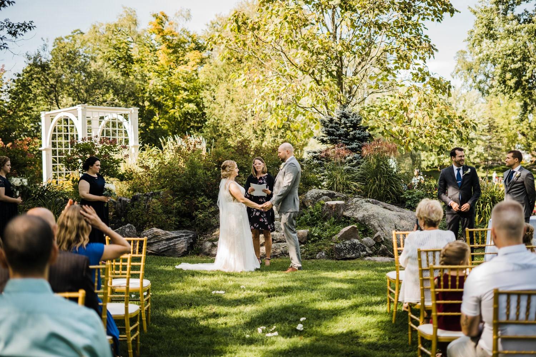 small stone cellar wedding perth - intimate stewart park ceremony