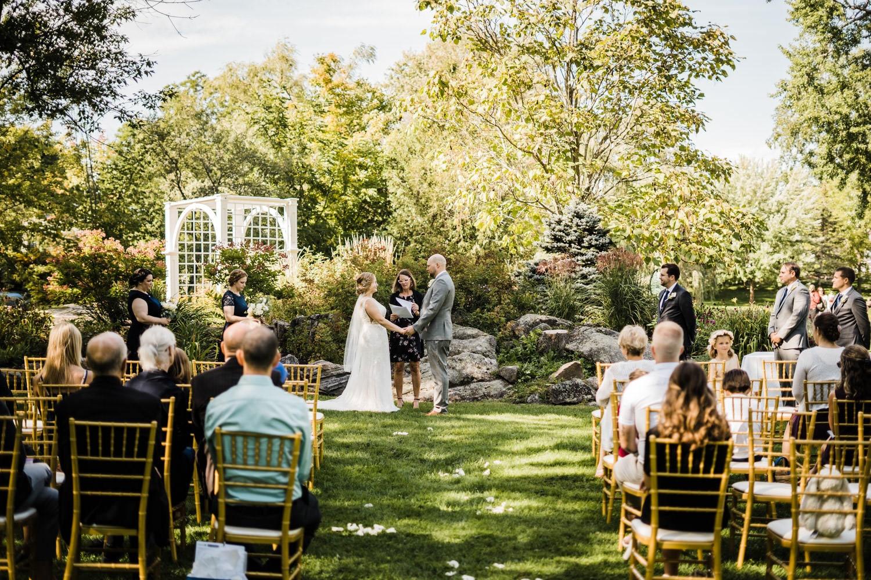small stone cellar wedding perth - stewart park ceremony
