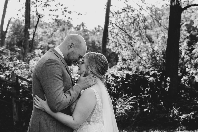 couple hug in stewart park - small stone cellar wedding perth